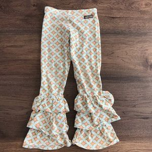Matilda Jane ruffle leg pants girls size 6